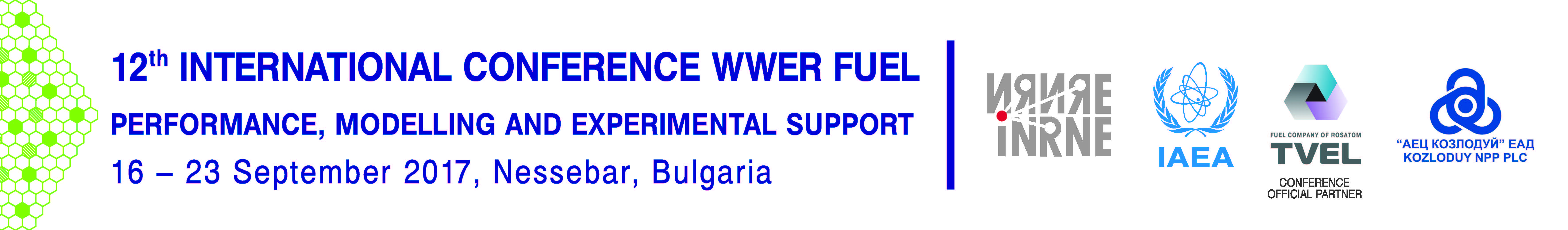12th INTERNATIONAL CONFERENCE ON WWER FUEL PERFORMANCE, MODELLING AND EXPERIMENTAL SUPPORT